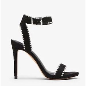 Crystal Strappy Heeled Sandals